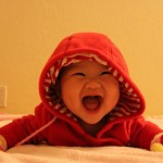 Happy baby Hannah is laughing | she is so adorable